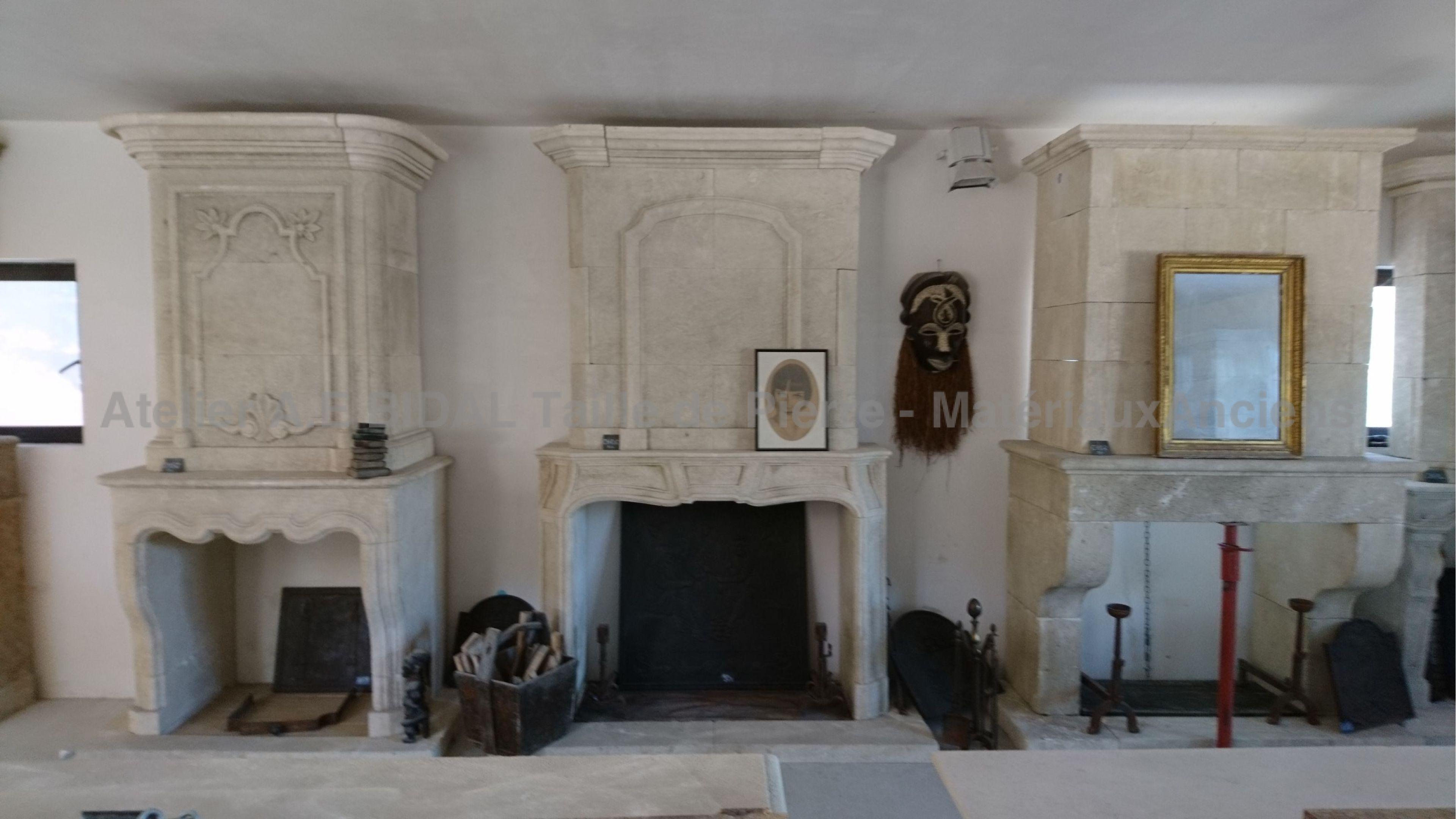Alain Bidal with alain bidal's stone fireplaces, have a warm winter !