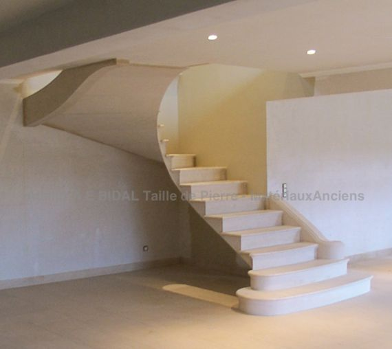 Stone staircase - indoor architecture