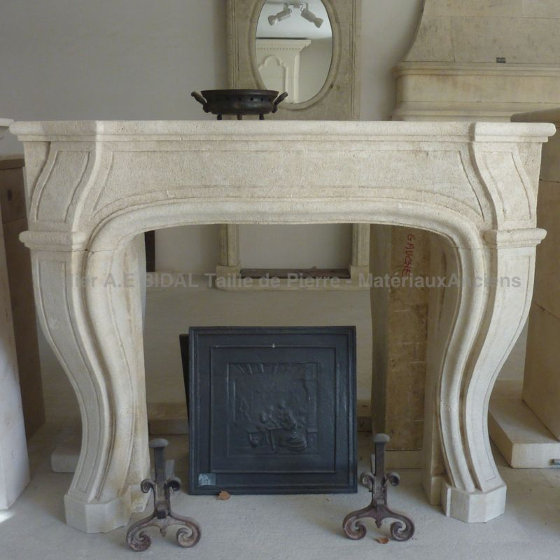 Fireplace in Louis XV style - unique craft