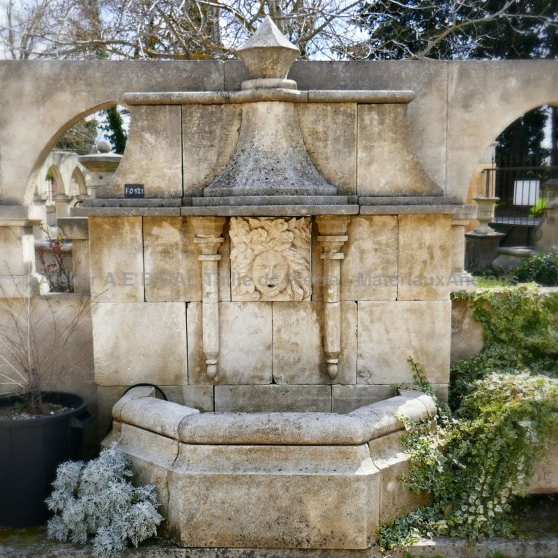 How to make a grand wall fountain by our stonemason AE Bidal