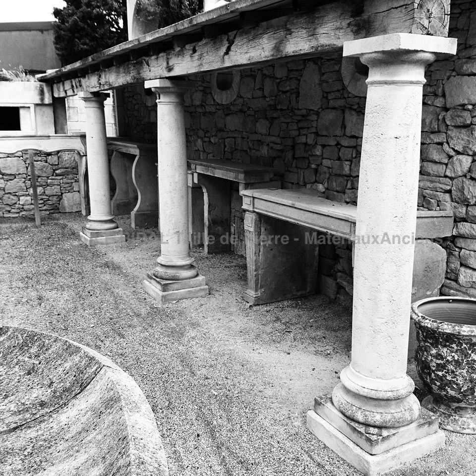 At Bidal's, master stonecutter in Provence, we offer authentic columns crafted in natural stone.