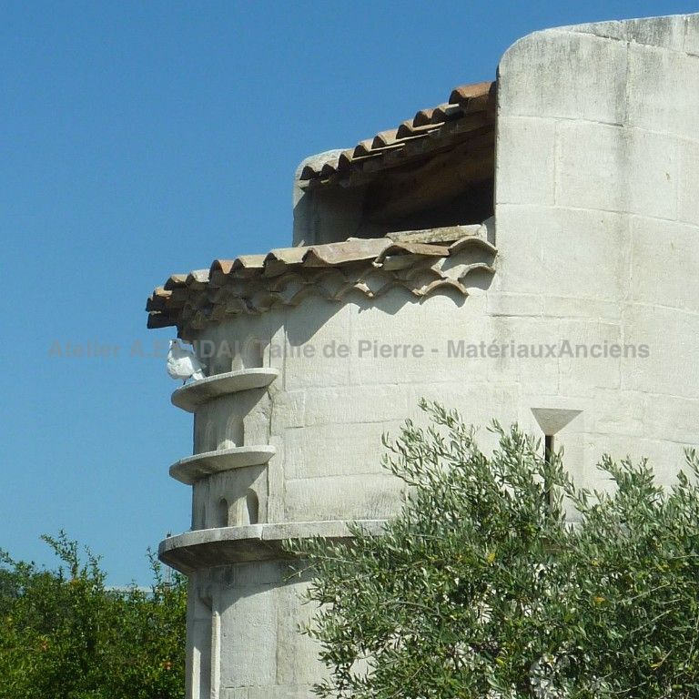 Dovecote in Freestone - the Estaillades stone