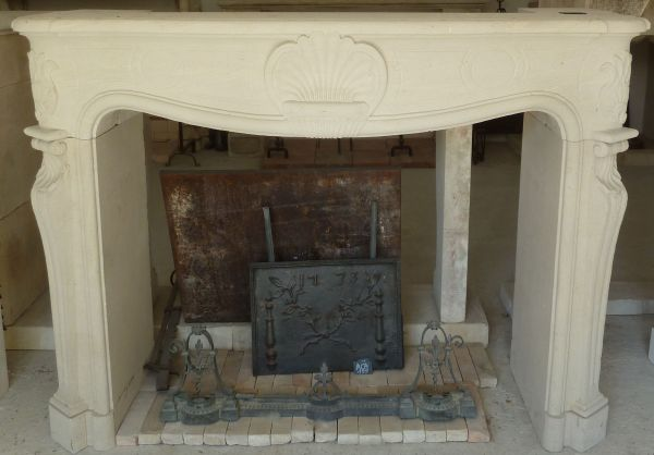 fireplace in Freestone
